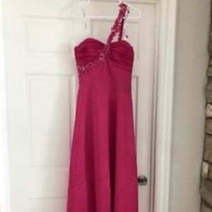 Morgan & Co Pink Gown NWT